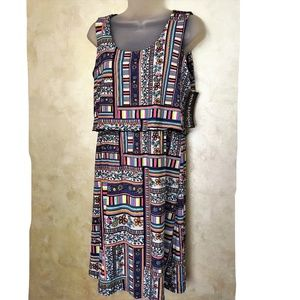 Adorable Nina Leonard Dress NWT M